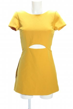 Zara Trafaluc Jumpsuit blassgelb Elegant