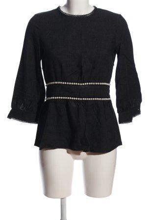 Zara Trafaluc Jumpsuit schwarz-weiß Casual-Look