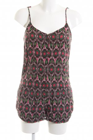 Zara Trafaluc Jumpsuit abstraktes Muster Casual-Look