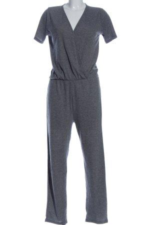 Zara Trafaluc Jumpsuit blau Streifenmuster Casual-Look