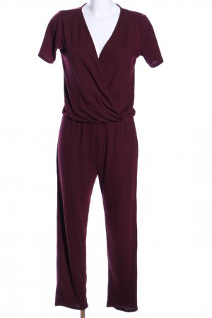 Zara Trafaluc Jumpsuit rot Casual-Look