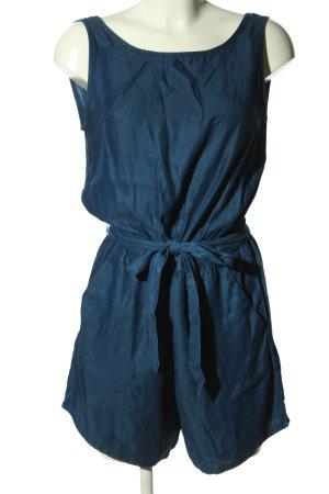 Zara Trafaluc Jumpsuit blau Casual-Look