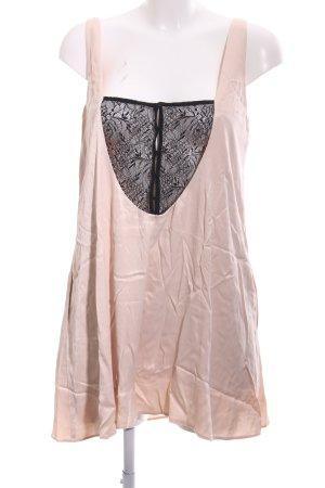 Zara Trafaluc Jumpsuit nude-schwarz Elegant
