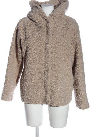Zara Trafaluc Cappotto con cappuccio crema stile casual