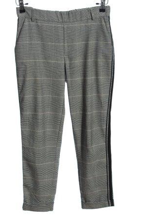 Zara Trafaluc Peg Top Trousers check pattern business style