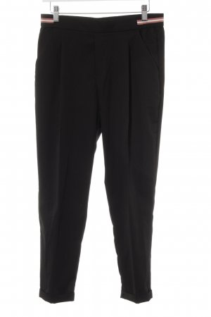 Zara Trafaluc Peg Top Trousers black casual look