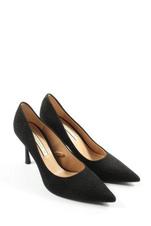Zara Trafaluc Escarpins classiques  noir style d'affaires