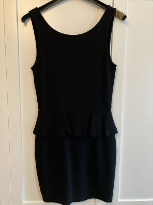Zara Trafaluc Peplum Dress black