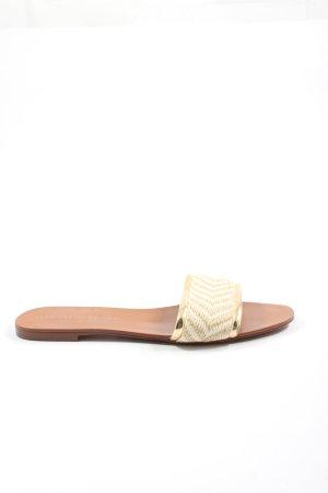 Zara Trafaluc Comfortabele sandalen room-wolwit casual uitstraling