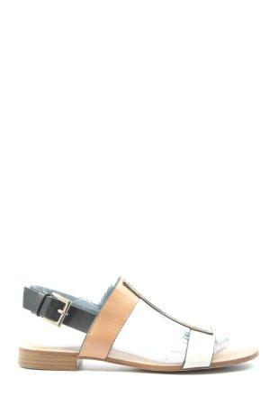 Zara Trafaluc Sandalo comodo multicolore stile casual