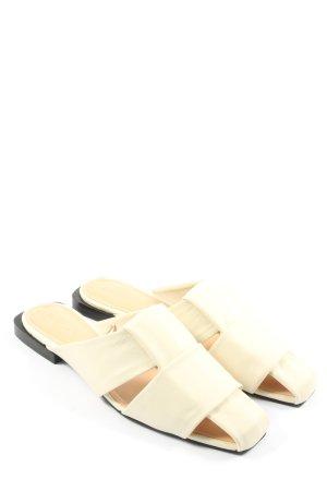 Zara Trafaluc Comfort Sandals natural white casual look