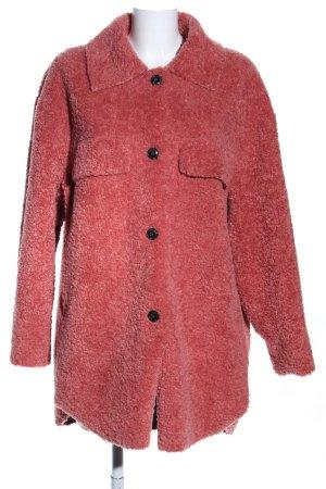 Zara Trafaluc mantel rot Casual-Look