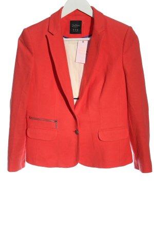 Zara Trafaluc Korte blazer licht Oranje zakelijke stijl