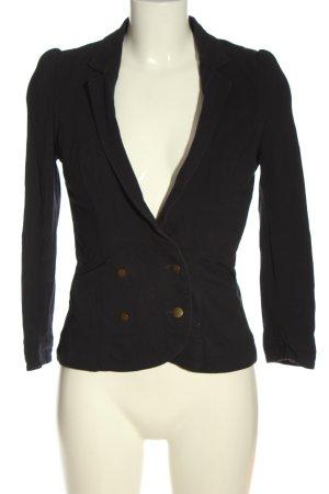 Zara Trafaluc Korte blazer zwart casual uitstraling