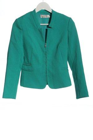 Zara Trafaluc Korte blazer groen zakelijke stijl