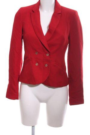 Zara Trafaluc Kurz-Blazer rot Business-Look