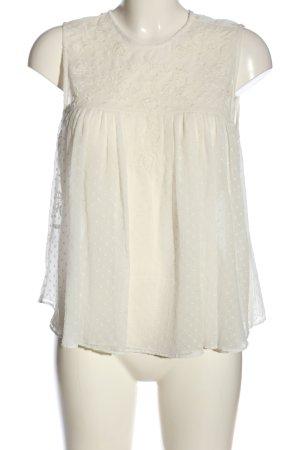 Zara Trafaluc Camicetta a maniche corte bianco modello web stile casual