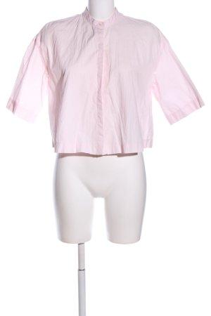 Zara Trafaluc Kurzarm-Bluse pink Casual-Look