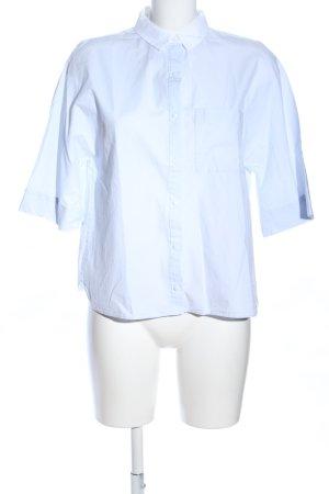 Zara Trafaluc Camicia a maniche corte bianco stile professionale