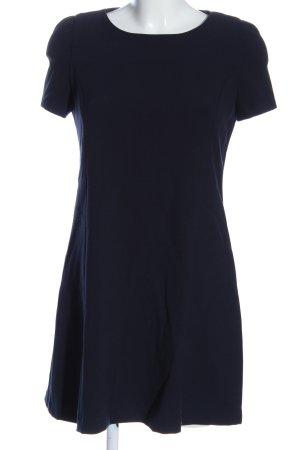 Zara Trafaluc Kurzarmkleid blau Casual-Look