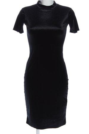 Zara Trafaluc Kurzarmkleid schwarz Elegant