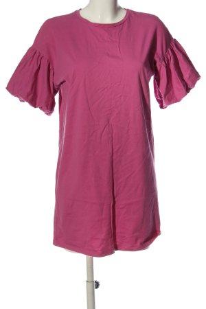 Zara Trafaluc Kurzarmkleid pink Casual-Look