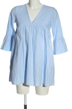 Zara Trafaluc Kurzer Jumpsuit niebieski W stylu casual