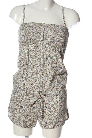 Zara Trafaluc Kurzer Jumpsuit Allover-Druck Casual-Look