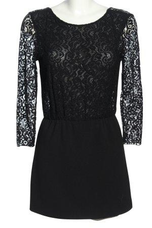Zara Trafaluc Kurzer Jumpsuit schwarz Elegant