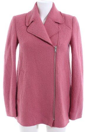 Zara Trafaluc Kurzmantel pink Business-Look