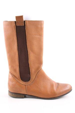 Zara Trafaluc Korte laarzen licht Oranje casual uitstraling