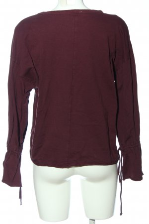 Zara Trafaluc Langarm-Bluse pink Casual-Look