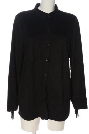 Zara Trafaluc Camicia a maniche lunghe nero stile casual