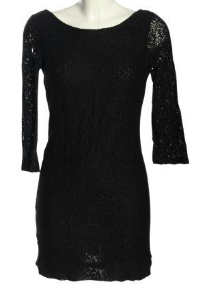 Zara Trafaluc Sukienka z długim rękawem czarny Elegancki