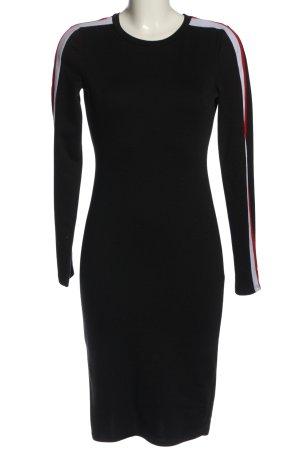 Zara Trafaluc Langarmkleid schwarz Elegant
