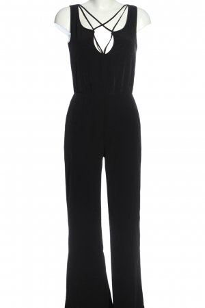 Zara Trafaluc Langer Jumpsuit schwarz Elegant