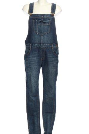 Zara Trafaluc Jeans met bovenstuk blauw casual uitstraling