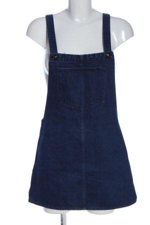 Zara Trafaluc Spódnica ogrodniczka niebieski W stylu casual