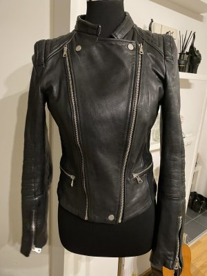 Zara trafaluc Lederjacke bikerjacke Kylie L 40 38 M schwarz top