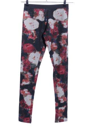 Zara Trafaluc Leggings Blumenmuster Casual-Look