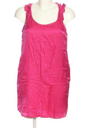 Zara Trafaluc Blouse topje roze gestippeld patroon casual uitstraling