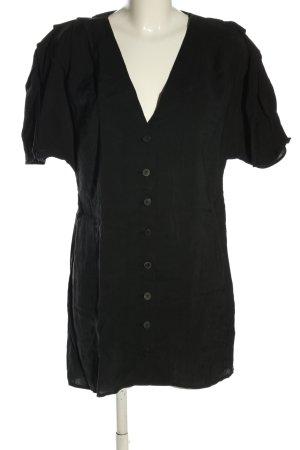 Zara Trafaluc Long-Bluse schwarz Casual-Look