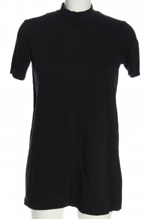 Zara Trafaluc Longshirt schwarz Casual-Look