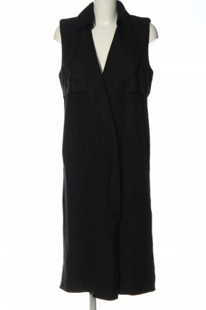 Zara Trafaluc Long Knitted Vest black casual look