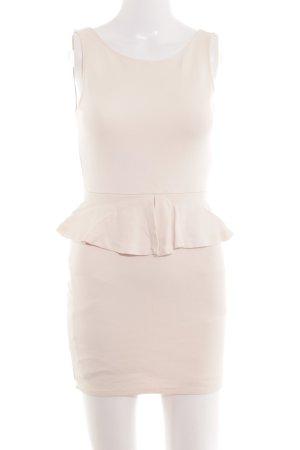 Zara Trafaluc Lange top nude casual uitstraling