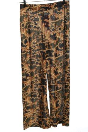 Zara Trafaluc Spodnie Marlena Abstrakcyjny wzór W stylu casual