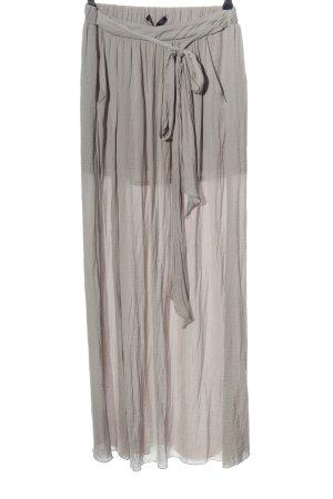 Zara Trafaluc Maxi Skirt brown casual look