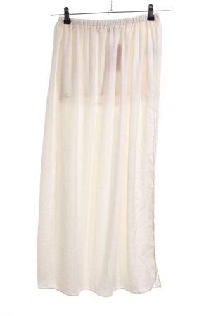 Zara Trafaluc Maxi Skirt natural white casual look