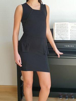 Zara Trafaluc Midikleid Etuikleid figurbetontes Kleid cocktailkleid Abendkleid mit Volant