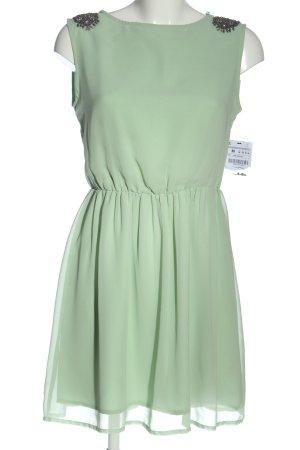 Zara Trafaluc Chiffonkleid grün Elegant